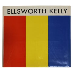 Ellsworth Kelly First Edition Art Book, Signed