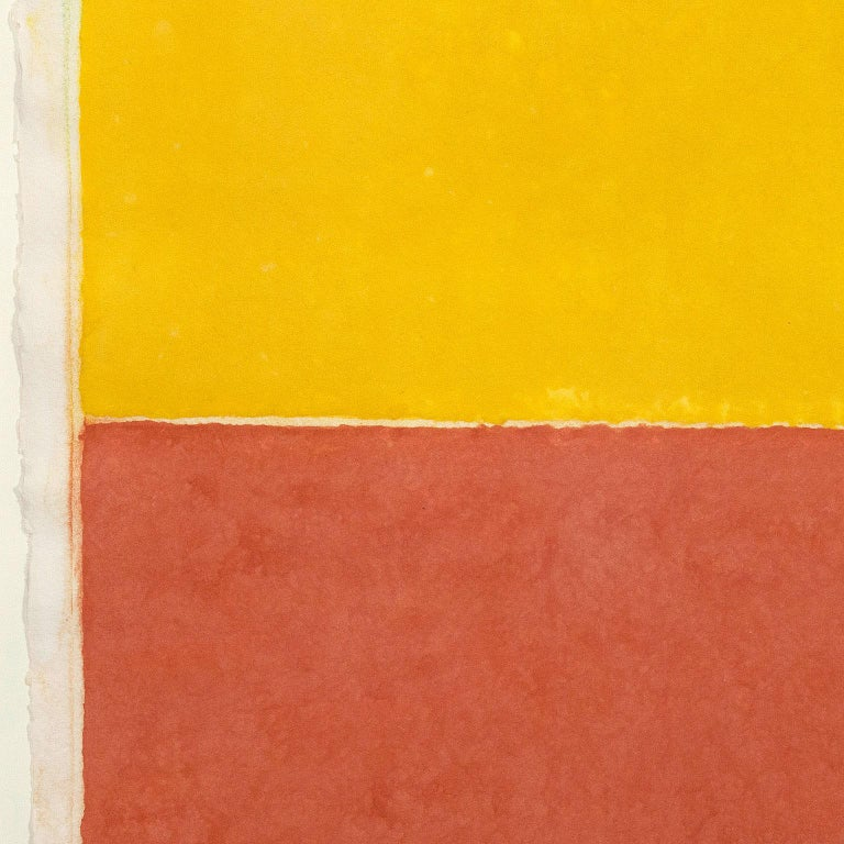 Ellsworth Kelly (b. 1923) is one of the masters of American minimalism.  He is collected internationally and renowned for his signature hypnotic shapes realized in single saturated colors.   Like many artists who had served in the US military during