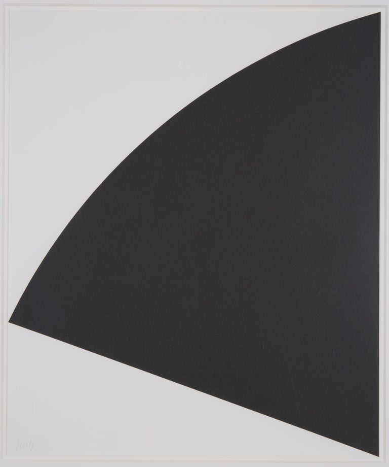 Black Curve - Print by Ellsworth Kelly