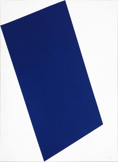 Blue (for Leo) from the portfolio of Leo Castelli's 90th Birthday; 1997