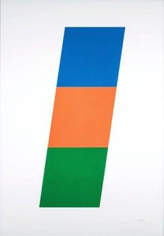 Blue/Red-Orange/Green