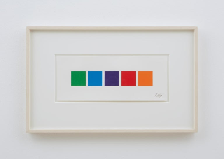 Color Squares 3 - Contemporary Print by Ellsworth Kelly