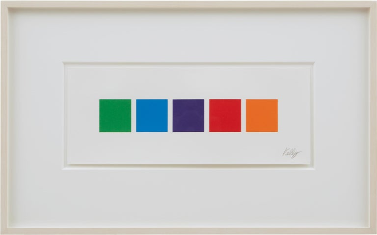 Color Squares 3 - Print by Ellsworth Kelly