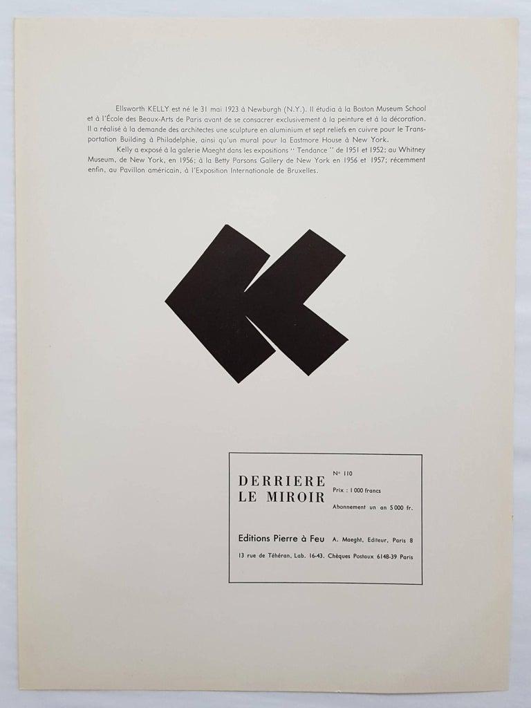 Derrière Le Miroir No. 110 (back cover) For Sale 2
