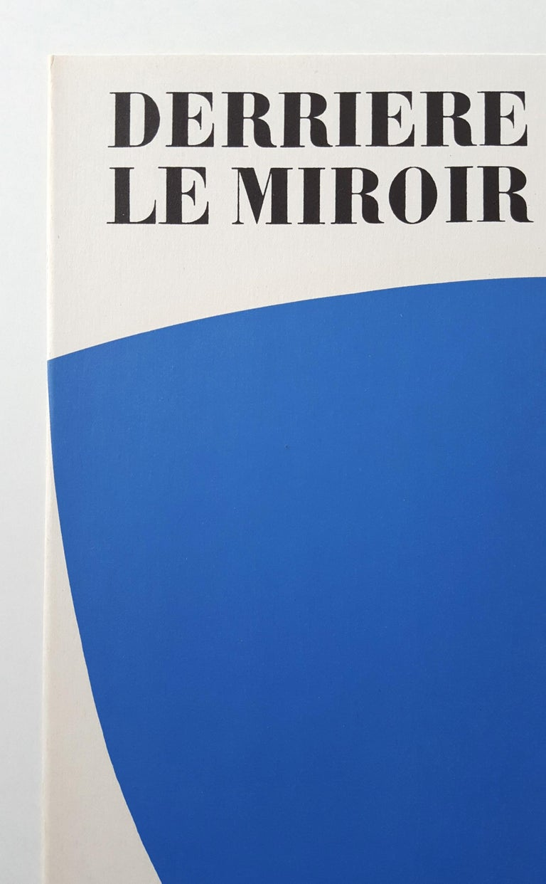 Derrière Le Miroir No. 110 (front cover) - Minimalist Print by Ellsworth Kelly