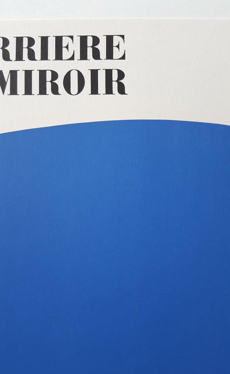 Derrière Le Miroir No. 110 (front cover) For Sale 1