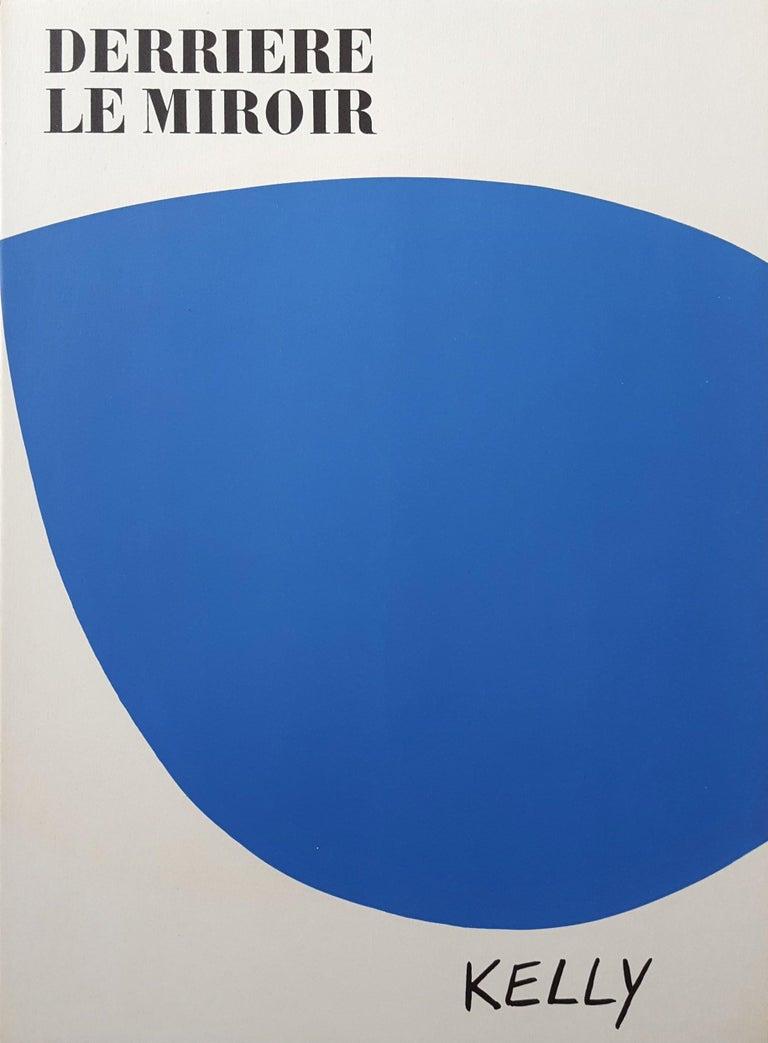 Ellsworth Kelly Abstract Print - Derrière Le Miroir No. 110 (front cover)