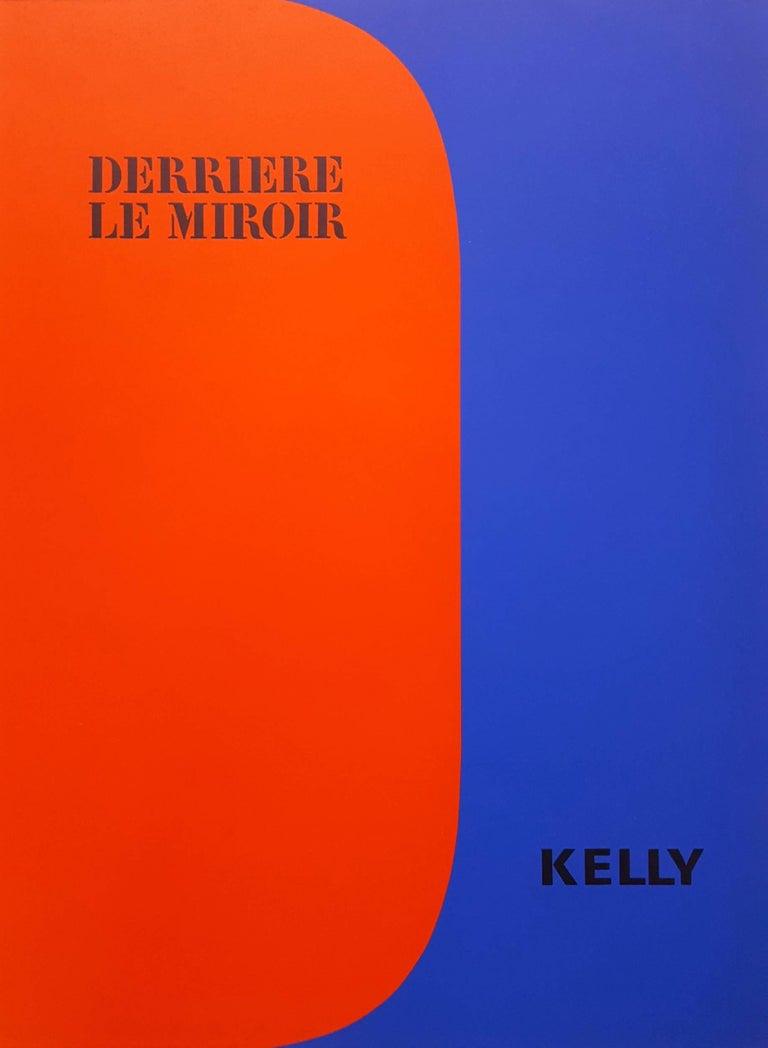 Ellsworth Kelly Abstract Print - Derrière Le Miroir No. 149 (front cover)