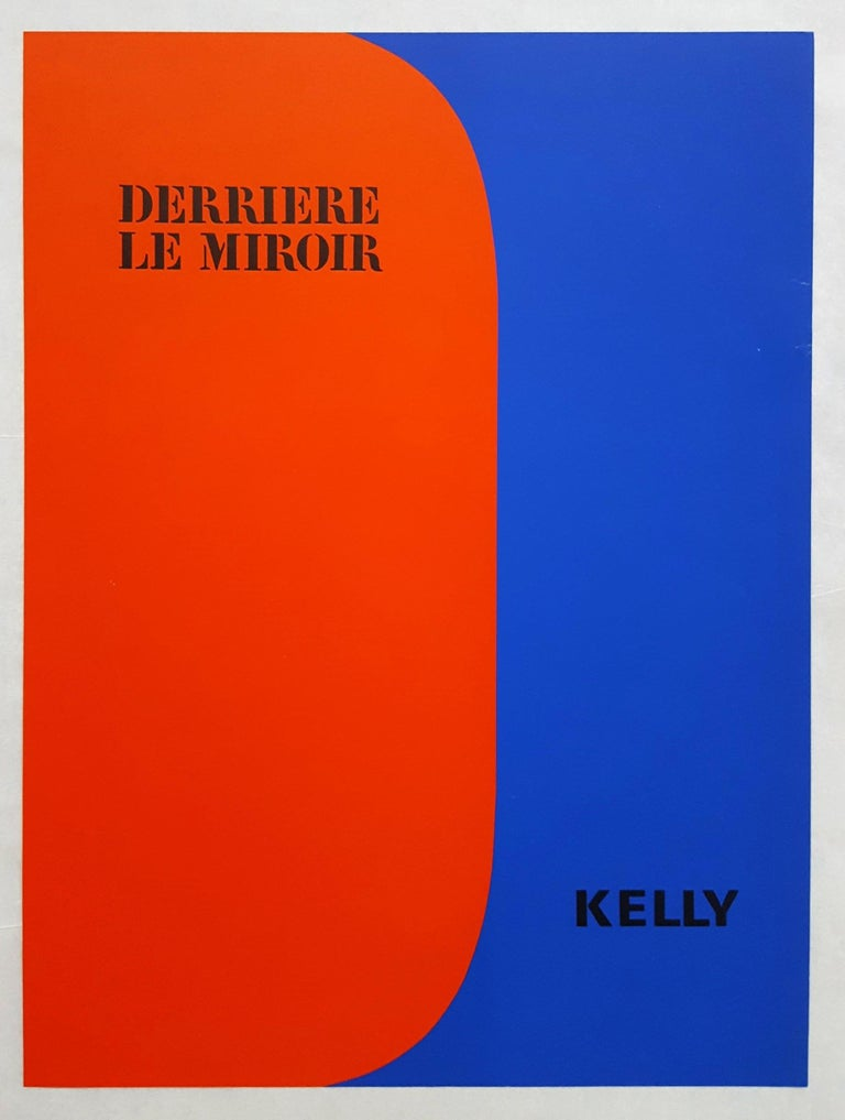 Derrière Le Miroir No. 149 (front cover) - Print by Ellsworth Kelly