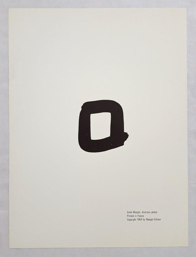 Derrière Le Miroir No. 149 (front cover) For Sale 2