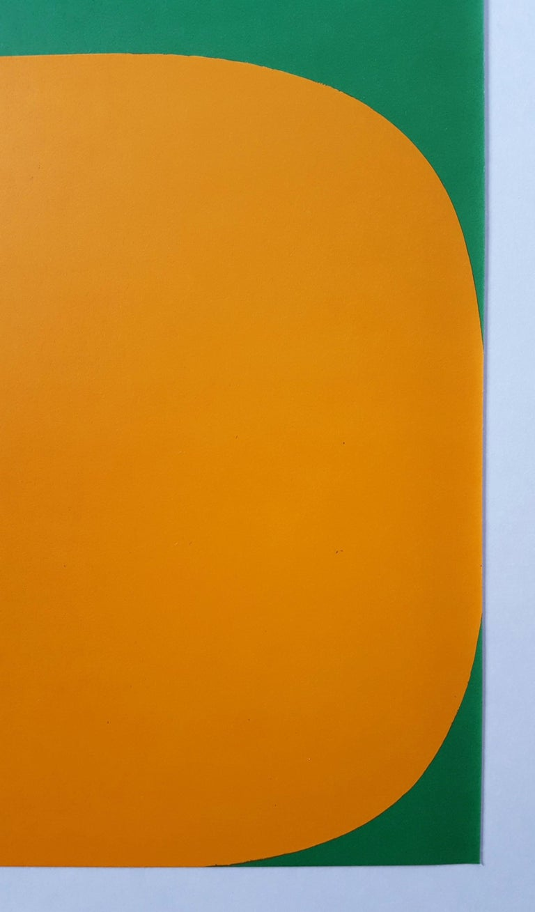 An original one page lithograph on smooth wove paper by American artist Ellsworth Kelly (1923-2015) titled