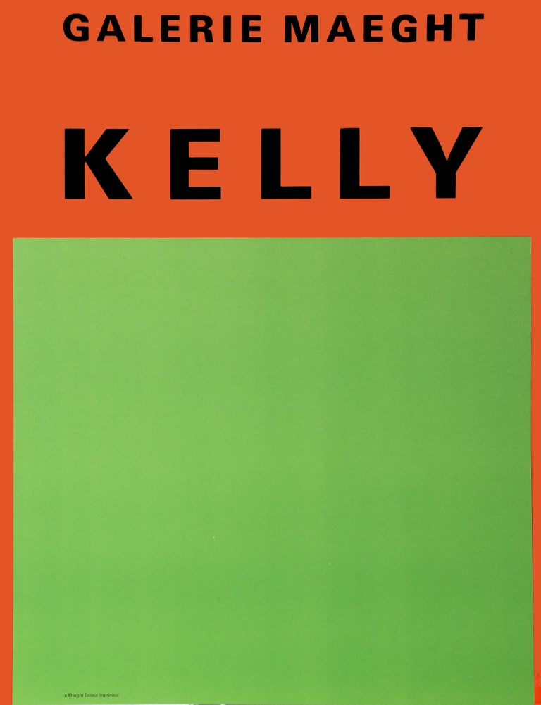 Ellsworth Kelly Abstract Print - Galerie Maeght