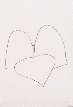 Haricot Vert III (String Bean Leaves III) -  Ellsworth Kelly, Minimalism, Flora