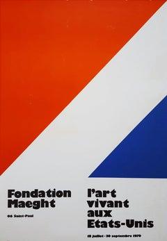L'Art vivant aux Etats-Unis, Fondation Maeght