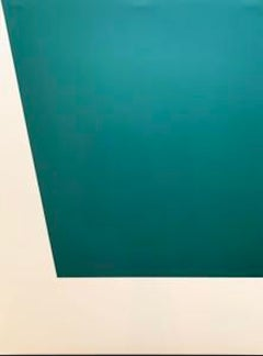 Mallarmé Suite: Green; 1992; Lithograph printed on Rives BFK wove paper; 29 x 21