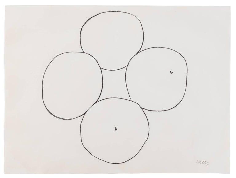 Ellsworth Kelly Abstract Print - Oranges