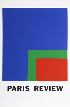 Paris Review, Screenprint by Ellsworth Kelly 1966