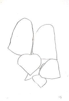 String Bean Leaves III (Haricot Vert III)