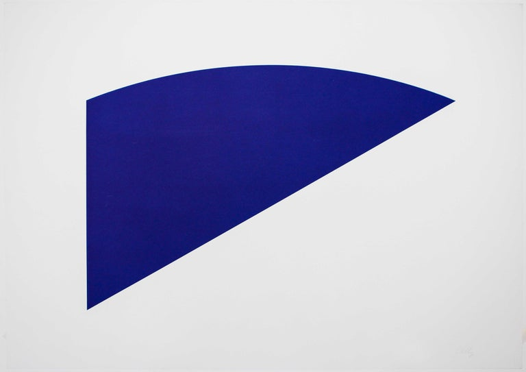Untitled (Eight by Eight to Celebrate the Temporary Contemporary) - Print by Ellsworth Kelly