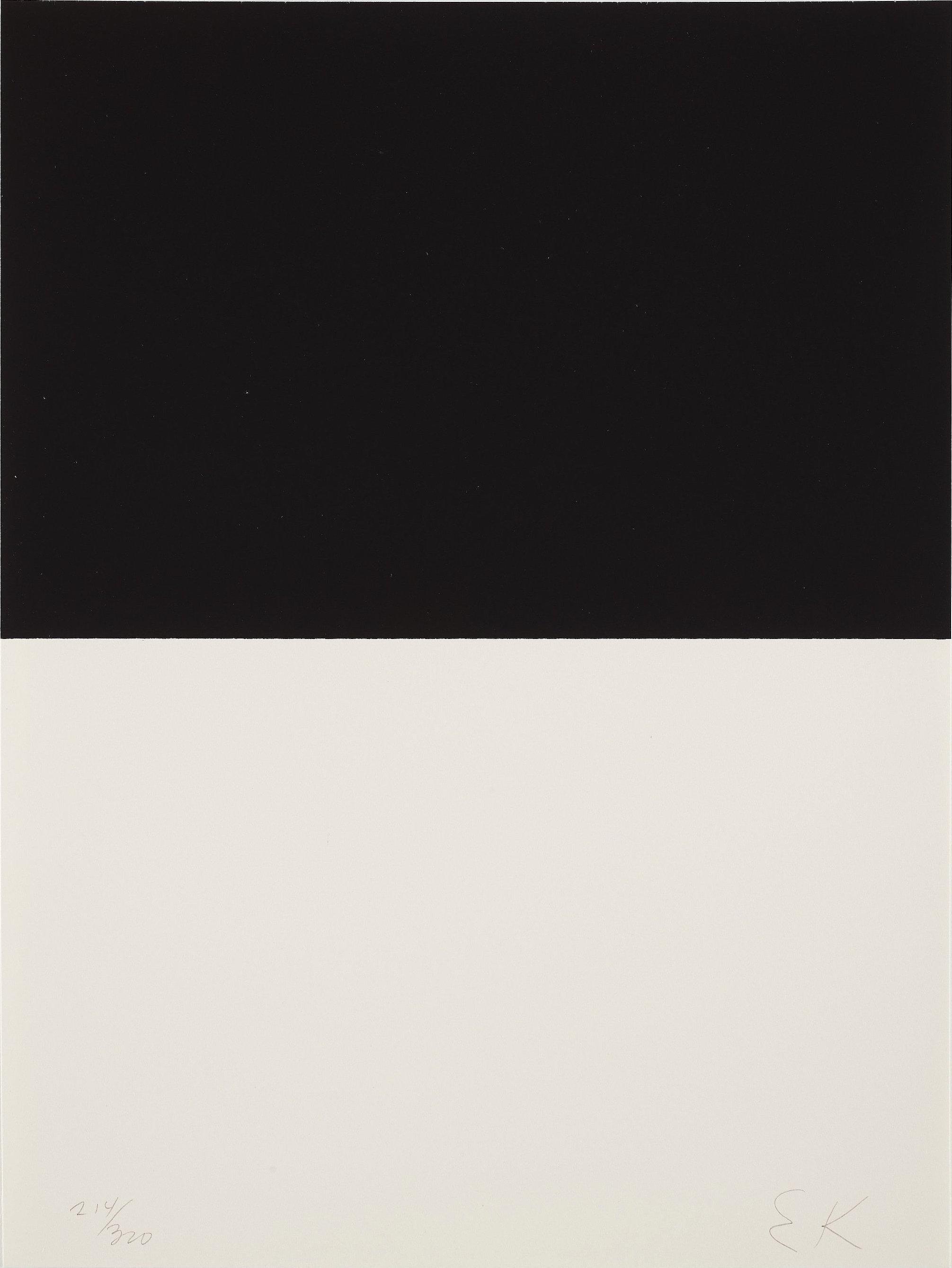 Untitled -- Screen Print, Minimalism, Geometric Abstraction by Ellsworth Kelly