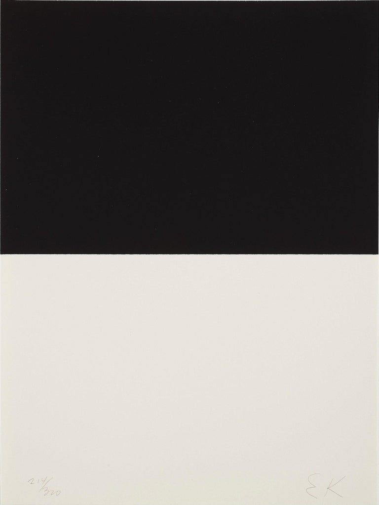 ELLSWORTH KELLY Untitled, 1973  Screenprint, on BFK Rives paper Signed and numbered from the edition of 300  With the artist's copyright inkstamp verso From The New York Collection for Stockholm Printed by Styria Studio Inc., New York Published by
