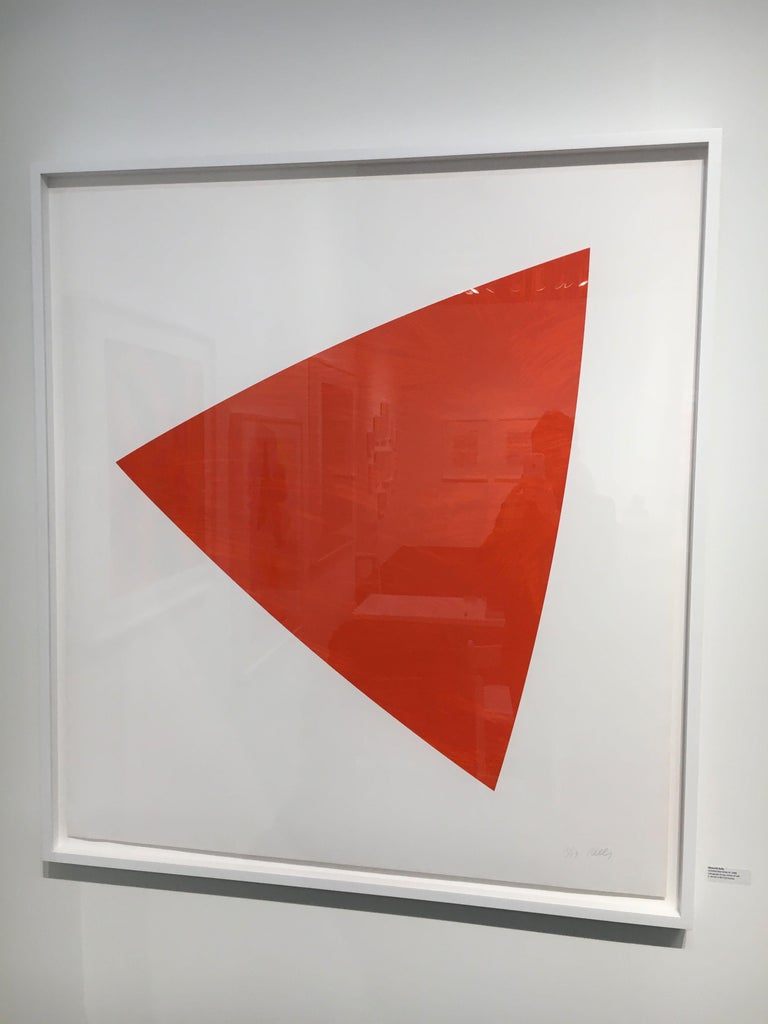 Untitled (Red State II) - Print by Ellsworth Kelly