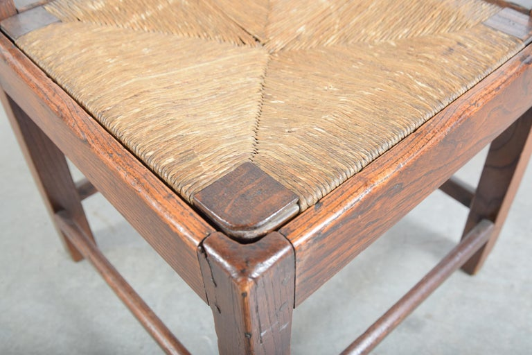 Elm Chippendale Corner Chair, circa 1780-1820 For Sale 3