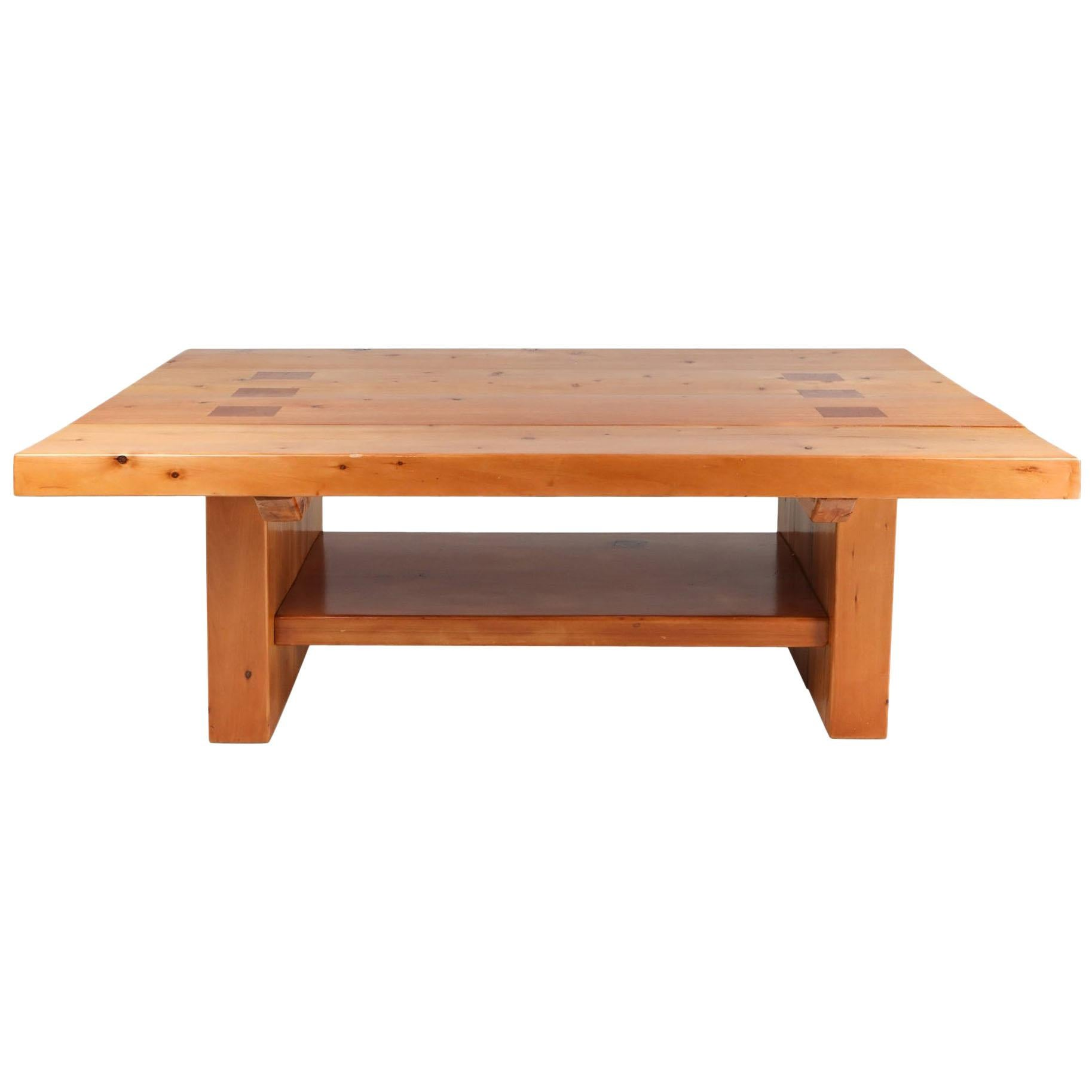 Elm Dining Table in the Manner of Chapo
