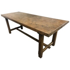Elm Farmhouse Dining Table