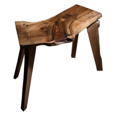 Elm Lighting Strike Side Table, Made in England