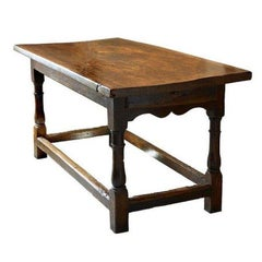 Elm Refectory Table, 1650-1750