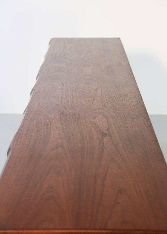 Elm Sideboard by Olavi Hanninen, 1960s For Sale 6