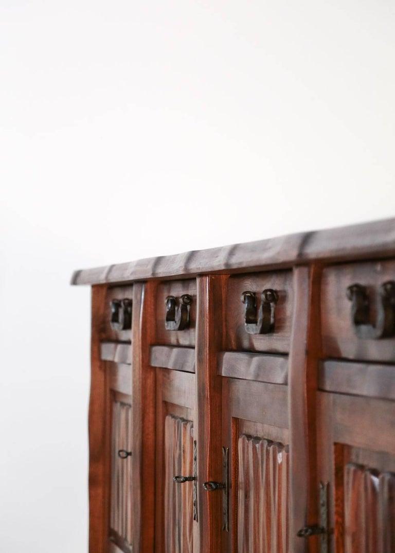 20th Century Elm Sideboard by Olavi Hanninen, 1960s For Sale