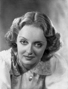 Bette Davis: Piercing Gaze Movie Star News Fine Art Print