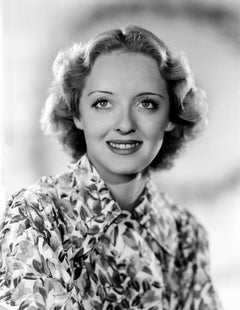 Bette Davis Smiling II Movie Star News Fine Art Print