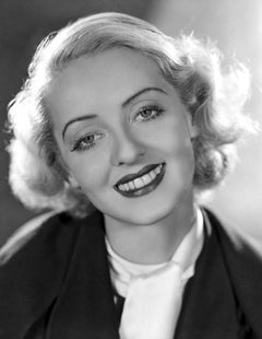 Bette Davis Smiling Movie Star News Fine Art Print