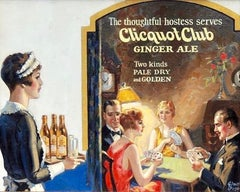 Clicquot Club Ginger Ale Advertisement