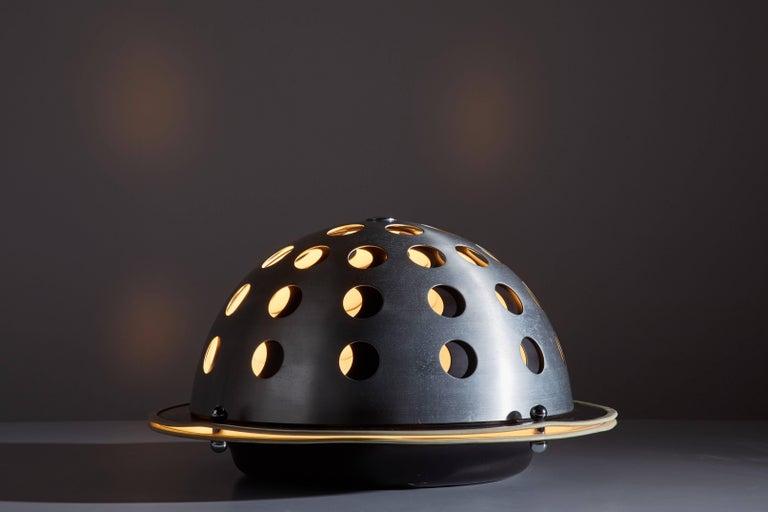 "Mid-Century Modern ""Elmo"" Table Lamp by Columbini & Guzzetti For Sale"