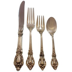 Eloquence by Lunt Sterling Silver Flatware Service for Eight, Set of 34 Pieces