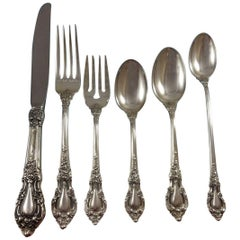 Eloquence by Lunt Sterling Silver Flatware Service Set 74 Pieces Dinner