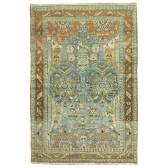 Eloquent Persian Malayer Scatter Square Rug