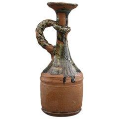 Elsa Benattar Studio Pottery Handled Vase 20th Century