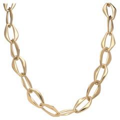 Elsa Peretti for Tiffany & Co. 18k Aegean Link Necklace