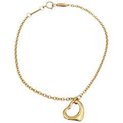 Elsa Peretti for Tiffany & Co. Yellow Gold 'Open Heart' Bracelet