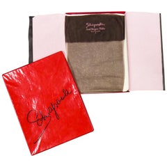 Elsa Schiaparelli Pair of Stockings and Its Original Box Circa 1958