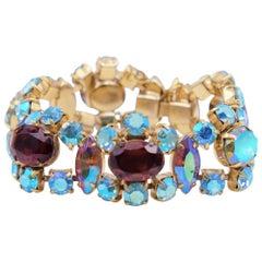 Elsa Schiaparelli Rhinestone Bracelet