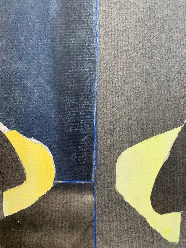 Three Black Vases (abstract expressionist still life) For Sale 3