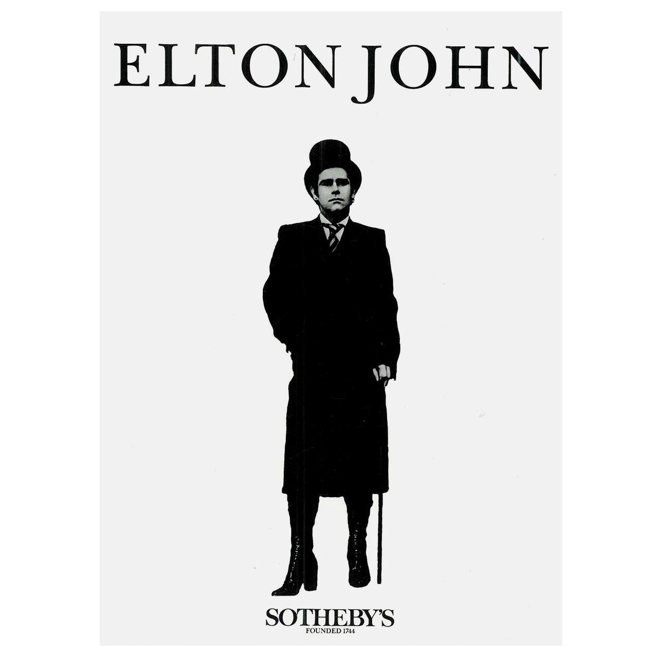 """Elton John,"" Sotheby's Sale 1988 Four-Volume Catalogue"