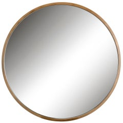Elvaston Mirror, a Modern Design with a Bronze Frame