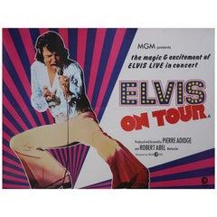 Elvis On Tour '1972' Poster